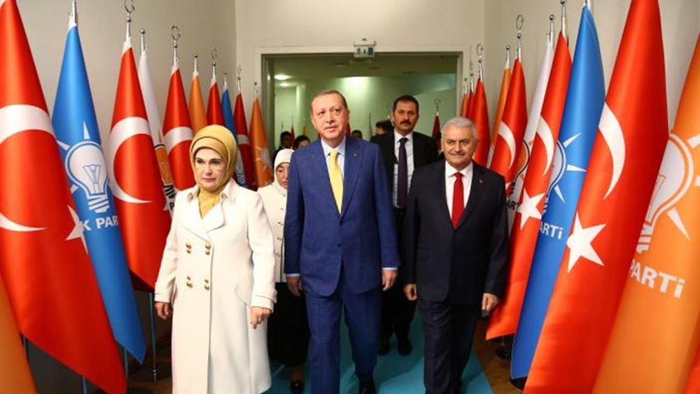 Δονήσεις στο τουρκικό πολιτικό σκηνικό