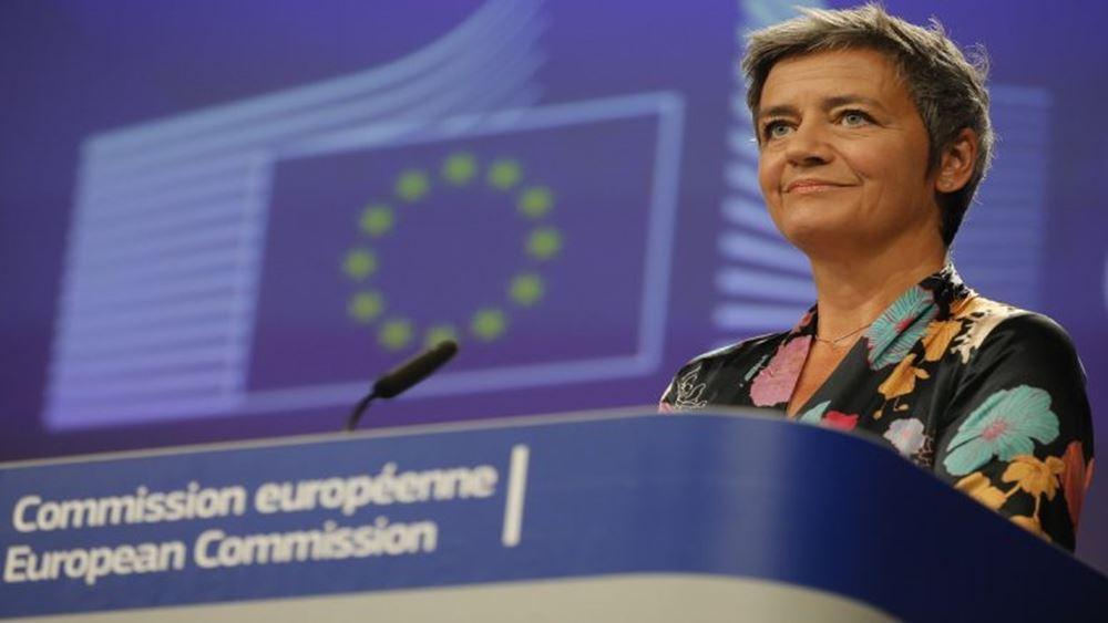 """Συνεχίζεται η νομική μάχη ΕΕ-Apple για τα 13 δισ. ευρώ """"φοροαπαλλαγών"""" στην Ιρλανδία - Έφεση από τις Βρυξέλλες"""