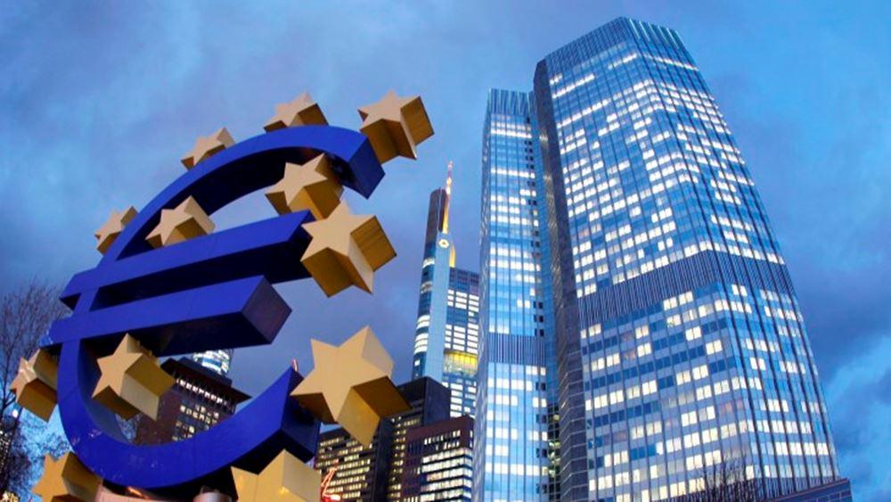 ΕΚΤ: Πλεόνασμα €27 δισ. στο ισοζύγιο τρεχουσών συναλλαγών το Φεβρουάριο