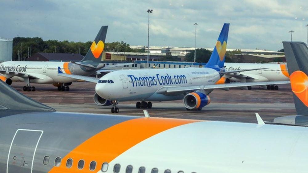 Βρετανία: Στα πρόθυρα κατάρρευσης η εταιρεία Thomas Cook