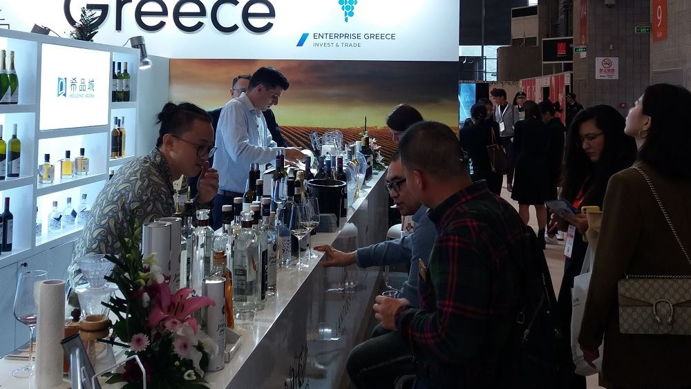Enterprise Greece: Με 50 ετικέτες κρασιών η ελληνική συμμετοχή στη Διεθνή Έκθεση Οίνου της Σαγκάης
