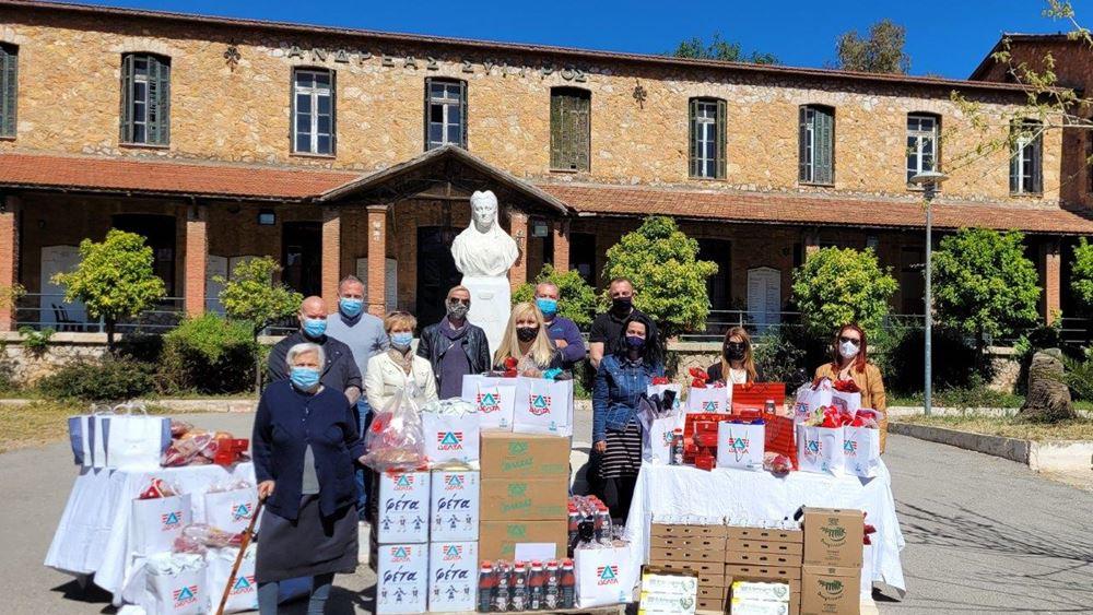 Η ΔΕΛΤΑ και οι εργαζόμενοί της στηρίζουν το φετινό Πάσχα το Γηροκομείο Αθηνών