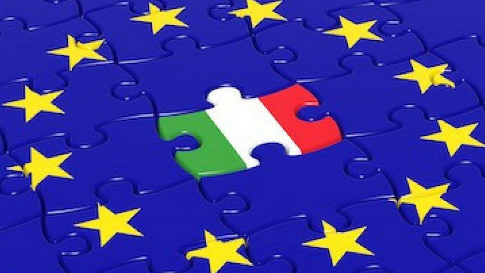"""Τράπεζα της Ιταλίας: """"Βλέπει"""" συρρίκνωση της οικονομίας μεταξύ 9%-13% το 2020"""