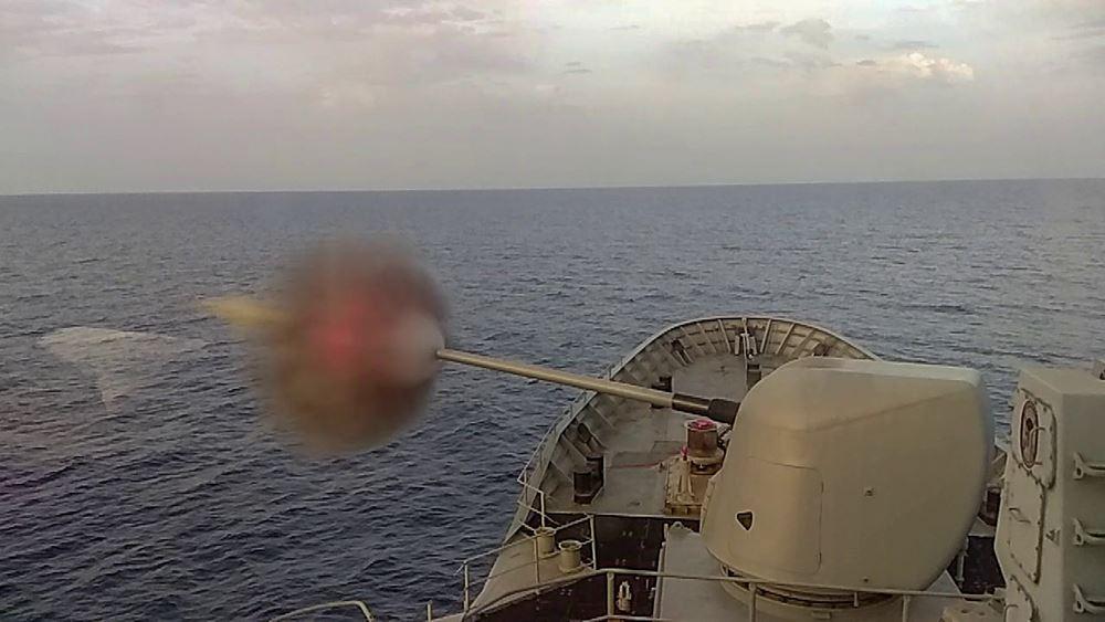 """Ολοκλήρωση εθνικής άσκησης """"Λόγχη"""" του Πολεμικού Ναυτικού"""