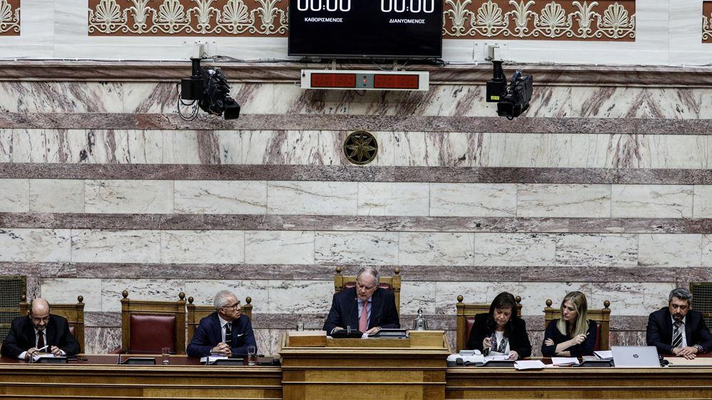 Κ. Τασούλας: Σύσταση στους πολιτικούς αρχηγούς να τηρηθούν οι χρόνοι ομιλιών