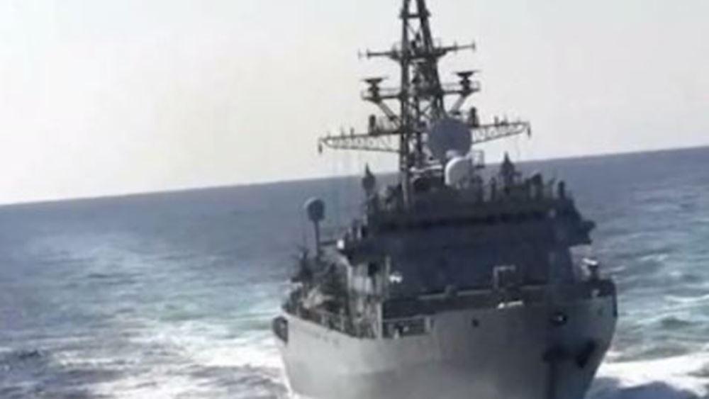 """Μίνι """"θερμό"""" επεισόδιο Ρωσίας - ΗΠΑ με πολεμικά πλοία στη Μέση Ανατολή"""