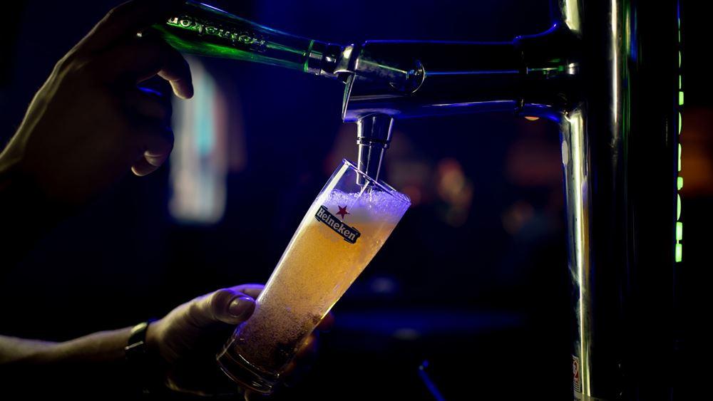 Αυξήθηκαν 4,4% τα καθαρά κέρδη της Heineken στο εννεάμηνο