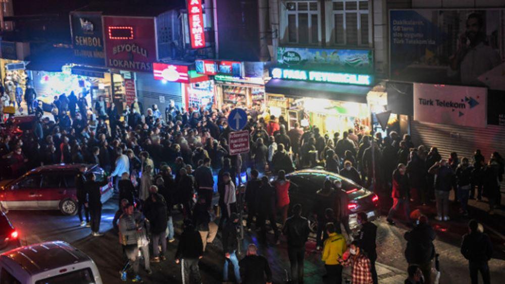 Τουρκία: Σκηνές χάους από την επιβολή του lockdown - πάνω από 52.000 τα κρούσματα