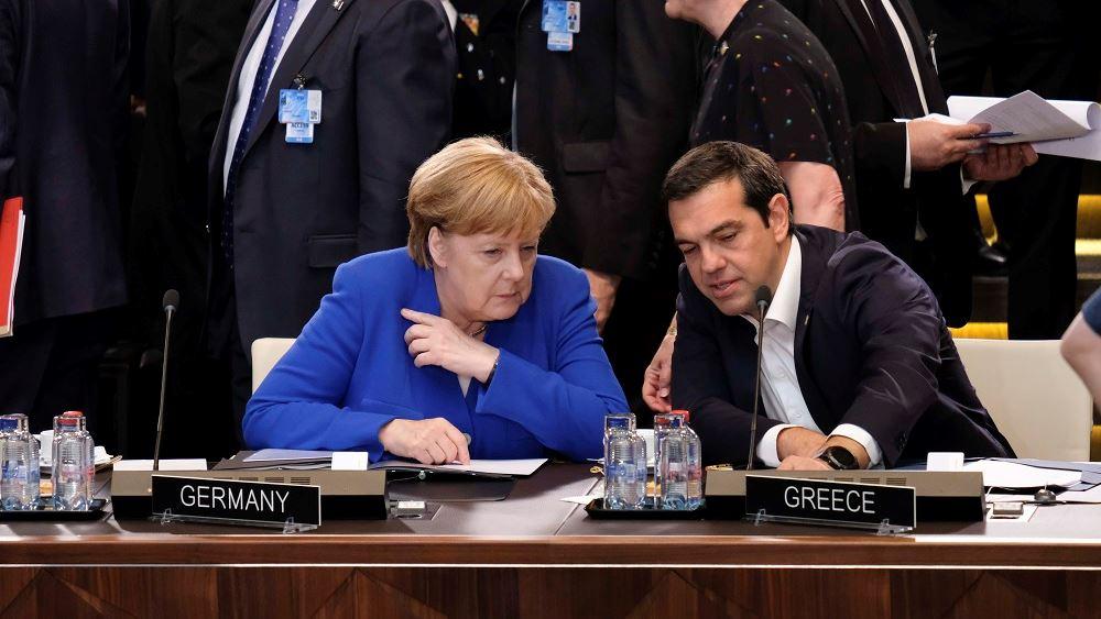 Μέρκελ: Έχουν προχωρήσει οι διαπραγματεύσεις με την Αθήνα για το μεταναστευτικό