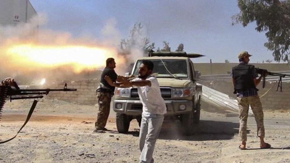 Οι δυνάμεις του Σάρατζ κατέλαβαν την κύρια γραμμή εφοδιασμού του Χαφτάρ
