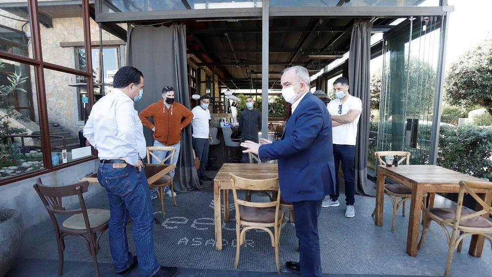 Άδ. Γεωργιάδης: Ολοκληρώσαμε τη μελέτη οργάνωσης του χώρου των εστιατορίων με τις προβλεπόμενες αποστάσεις
