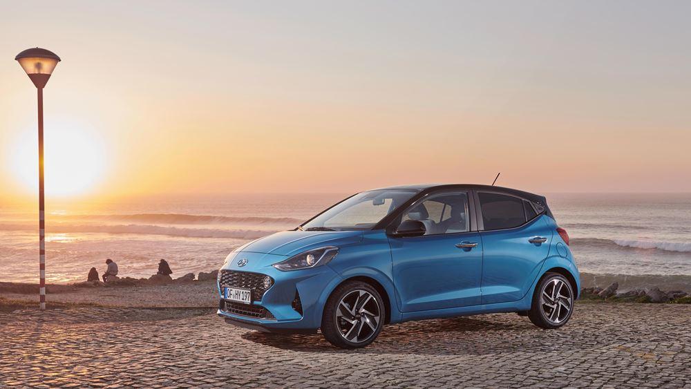Νέο Hyundai i10 : Κορυφαίοι χώροι με ακόμη μικρότερη κατανάλωση!