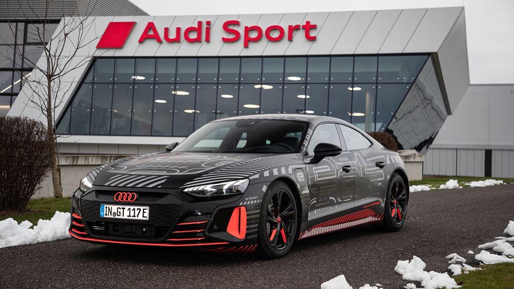 Έναρξη παραγωγής για το Audi e-tron GT