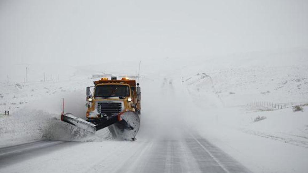 Ρωσία: Σφοδρές χιονοπτώσεις σαρώνουν τη Μόσχα