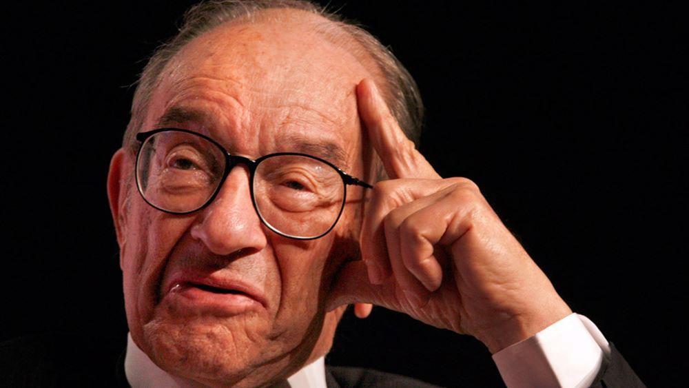 Greenspan: Ελαφρώς υπερτιμημένη η αγορά