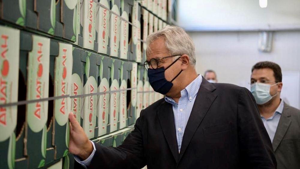 Μ. Βορίδης: Πάνω από 10 εκατ. ευρώ στους πληγέντες παραγωγούς θερμοκηπιακών κηπευτικών της Κρήτης