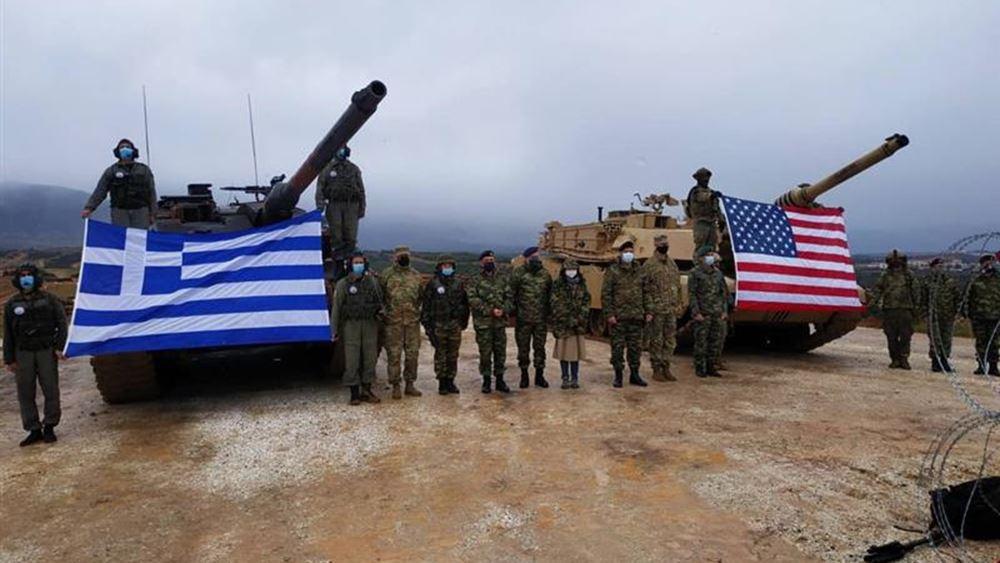 ΓΕΣ: Άσκηση ελληνικών και αμερικανικών δυνάμεων στη Θράκη