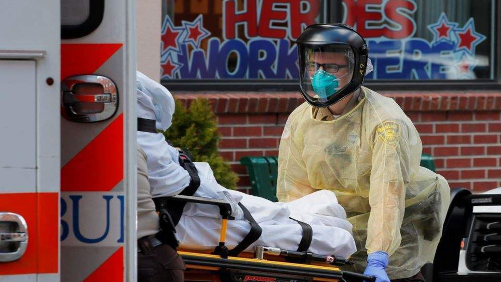ΗΠΑ: Καταγράφηκαν 833 θάνατοι εξαιτίας του κορονοϊού σε 24 ώρες