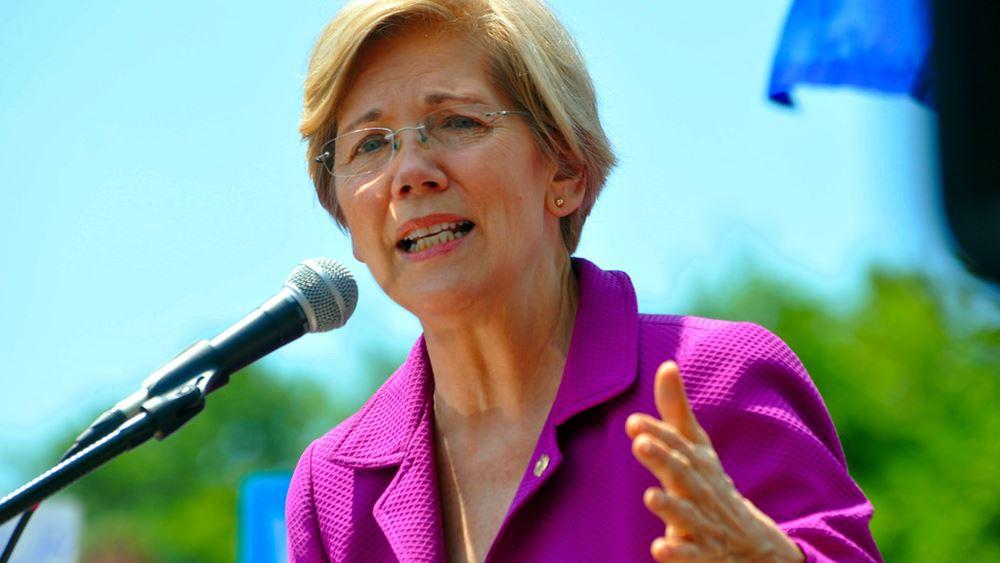 ΗΠΑ: Η Ελίζαμπεθ Γουόρεν ανακοίνωσε ότι θέτει υποψηφιότητα για την προεδρία