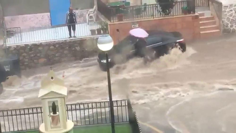 Ισπανία: Δύο νεκροί έπειτα από καταρρακτώδεις βροχοπτώσεις