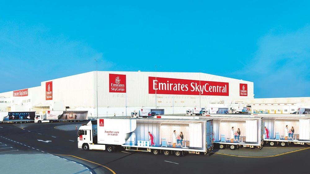Η Emirates SkyCargo δημιουργεί τον 1ο παγκοσμίως αποκλειστικό κόμβο διανομής εμβολίων κορονοϊού