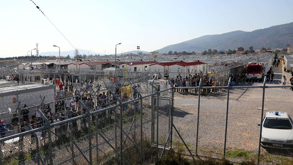 Πυρκαγιά στο κέντρο κράτησης αλλοδαπών στην Αμυγδαλέζα