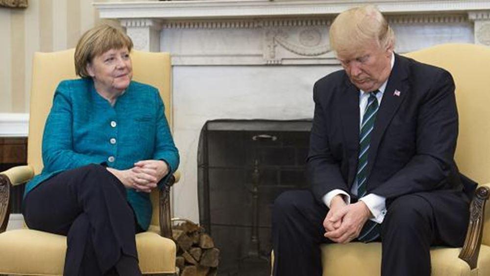 Παρέμβαση Τραμπ κατά Μέρκελ για το μεταναστευτικό