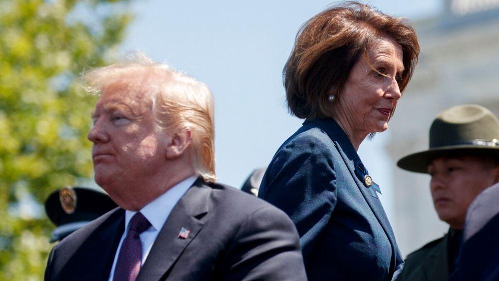 Πελόζι: Πιθανή η συμφωνία για το πακέτο πριν τις εκλογές - Να πείσει τους Ρεπουμπλικάνους ο Τραμπ