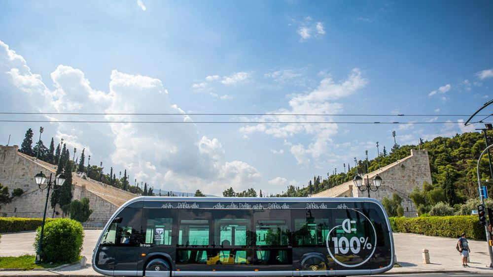 Το ηλεκτρικό λεωφορείο Irizar ie tram στη ΔΕΘ