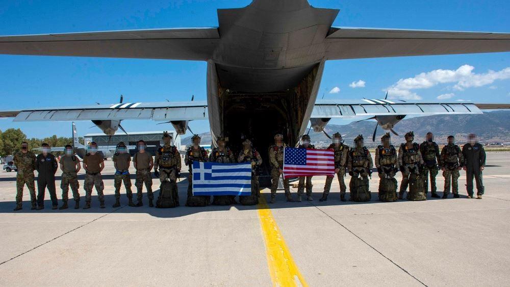 Συνεκπαίδευση ελληνικών και αμερικανικών Ενόπλων Δυνάμεων στο πλαίσιο της άσκησης «Κένταυρος 21»