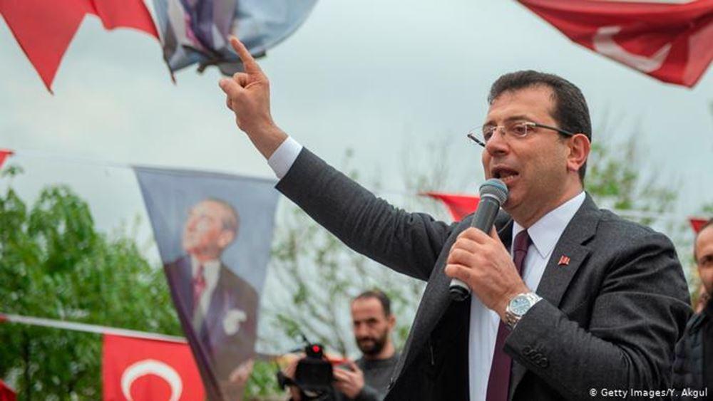 """Ο Εκρέμ Ιμάμογλου """"επιθυμεί να συνεργασθεί αρμονικά"""" με τον Ερντογάν"""