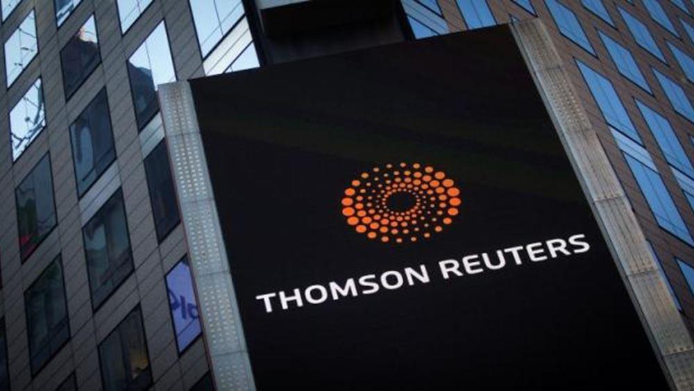 Thomson Reuters: Αναβαθμίζει το outlook για το 2019 και το 2020