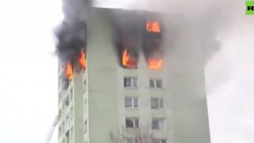 Έκρηξη σε πολυκατοικία στη Σλοβακία: Πέντε νεκροί και 40 τραυματίες