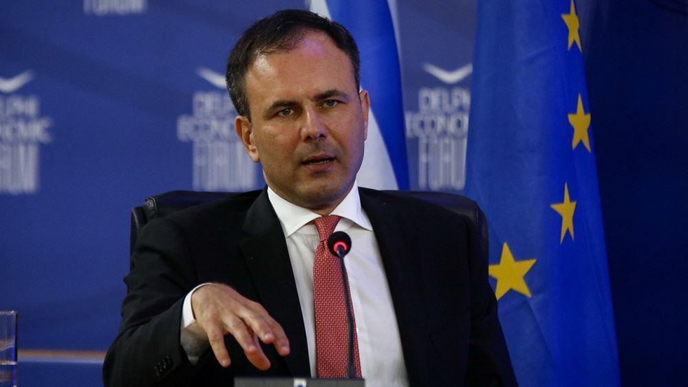 Αλ. Πατέλης: Θα βρούμε νέες δημοσιονομικές ισορροπίες μετά την πανδημία