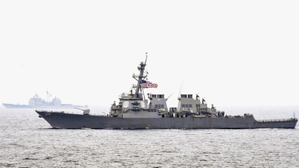 Κοινή άσκηση ΗΠΑ - Ουκρανίας στη Μαύρη Θάλασσα