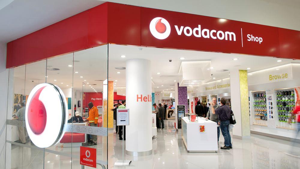 Αυξήθηκαν 18,9% τα κέρδη εξαμήνου της Vodacom