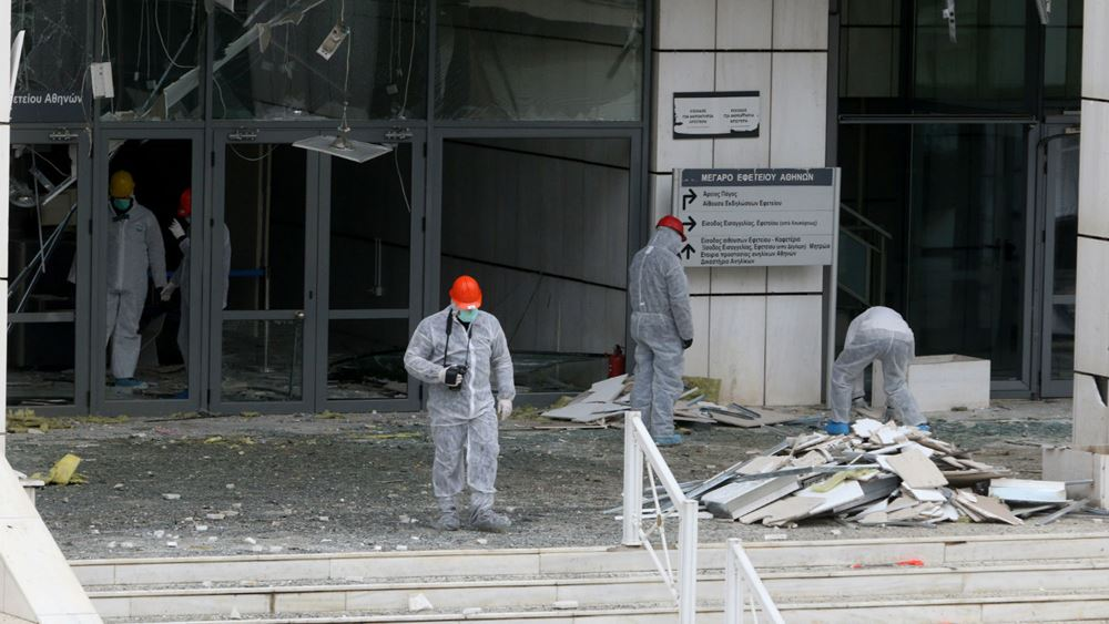 Ισχυρή έκρηξη βόμβας στο Εφετείο Αθηνών - πυροβόλησαν με καλάσνικοφ