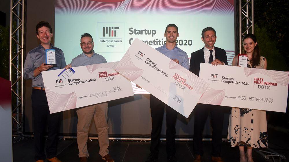 Οι Μεγάλοι Νικητές του ΔιαγωνισμούStartup Competition MITEF Greece