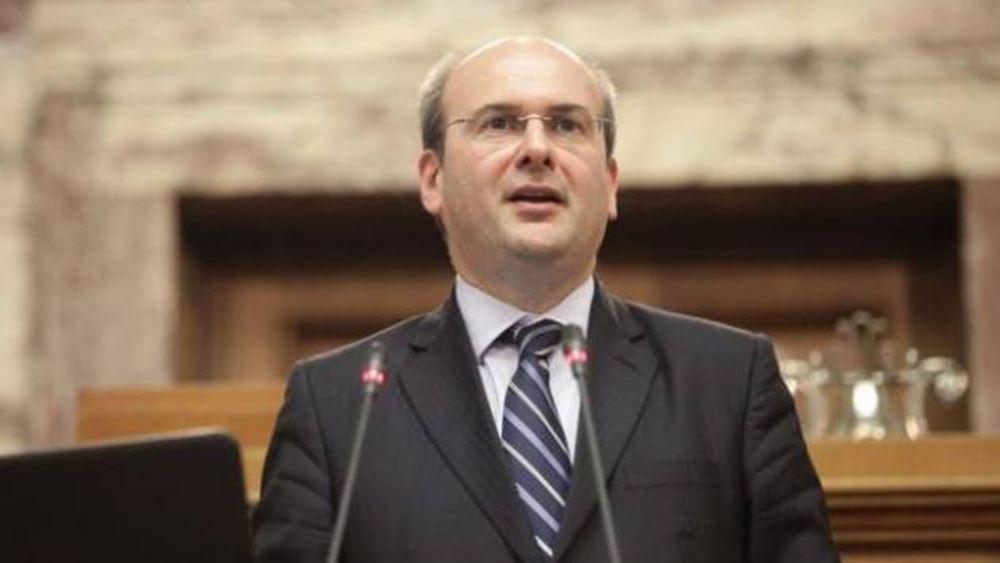 Κ. Χατζηδάκης: Δεν θα περάσουμε τις εξετάσεις των αγορών, γι΄ αυτό χρειαζόμαστε πολιτική αλλαγή