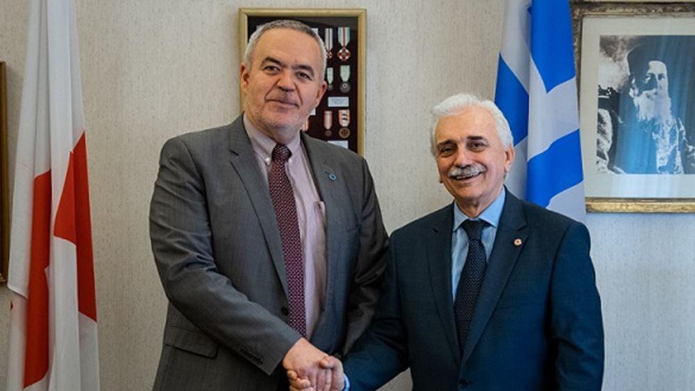 Συνεργασία Ελληνικού Ερυθρού Σταυρού και ΣΦΕΕ