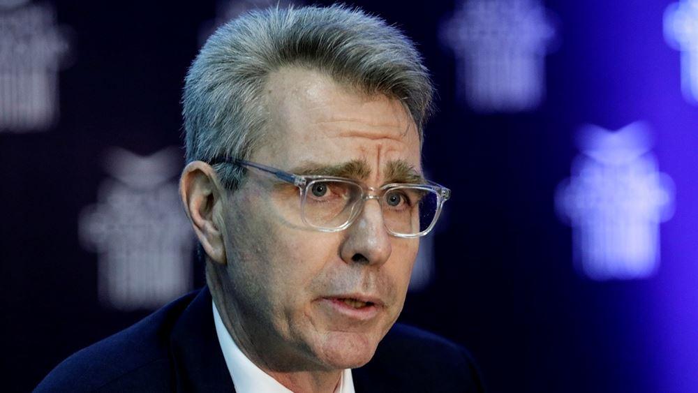 Τζ. Πάιατ: Στηρίζουμε τις ελληνικές ενέργειες απέναντι στην Τουρκία