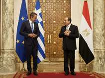 """Το """"παράθυρο""""για την επέκταση της ΑΟΖ με την Αίγυπτο και τα αποτελέσματα των συνομιλιών Μητσοτάκη - Σίσι"""