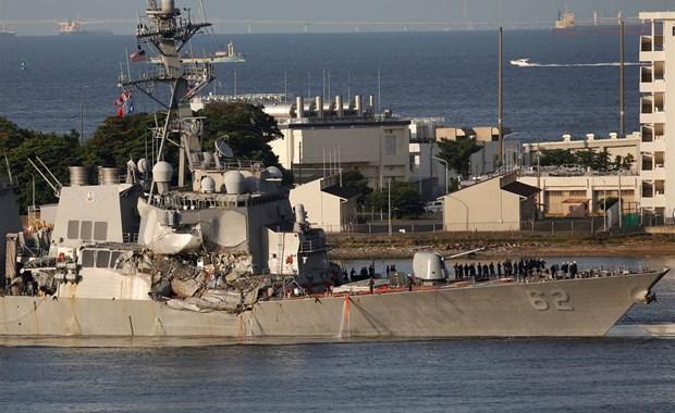 Ιαπωνία: Αμερικανικό αντιτορπιλικό συγκρούστηκε με φορτηγό πλοίο
