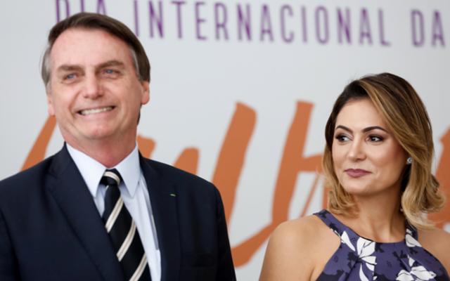 Βραζιλία: Η σύζυγος του προέδρου Μπολσονάρο και οι δύο κορές της αρνητικές στον κορονοϊό