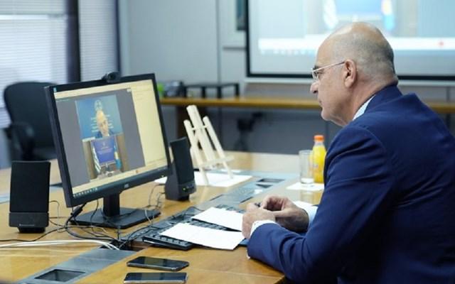 Τηλεδιάσκεψη Ν. Δένδια με την ΥΠΕΞ του Κοσόβου