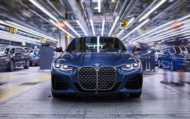 Έναρξη παραγωγής για τη νέα BMW Σειρά 4 Coupé στο Εργοστάσιο του BMW Group στο Dingolfing