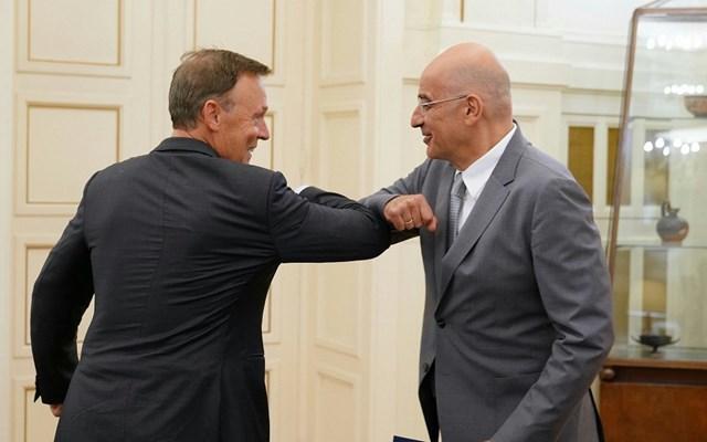 Με τον αντιπρόεδρο της Ομοσπονδιακής Βουλής της Γερμανίας συναντήθηκε ο Ν. Δένδιας