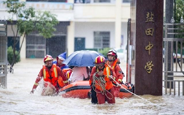 Κίνα: Διάθεση περίπου 43 εκατ. δολαρίων για την αποκατάσταση των ζημιών από τις πλημμύρες