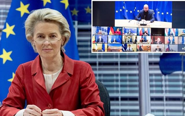 Φον ντερ Λάιεν: Προειδοποιεί κατά της υπερβολικά γρήγορης χαλάρωσης των μέτρων