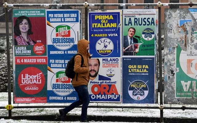 Ιταλία - Εxit poll: Τρεις μεγάλες περιφέρειες στην κεντροαριστερά - Τρεις σε Λέγκα και συμμάχους